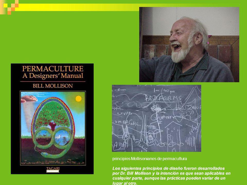 principios Mollisonianos de permacultura