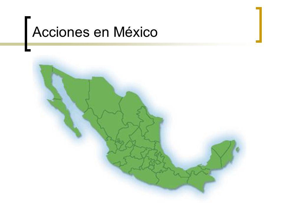 Acciones en México
