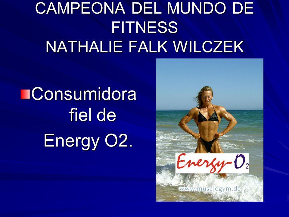 CAMPEONA DEL MUNDO DE FITNESS NATHALIE FALK WILCZEK