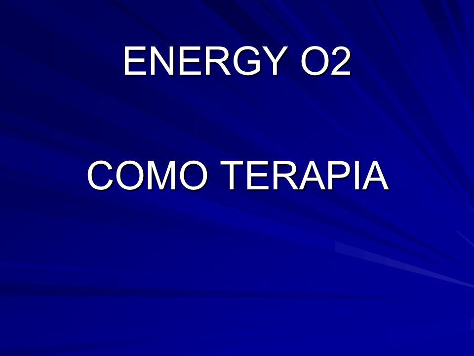 ENERGY O2 COMO TERAPIA