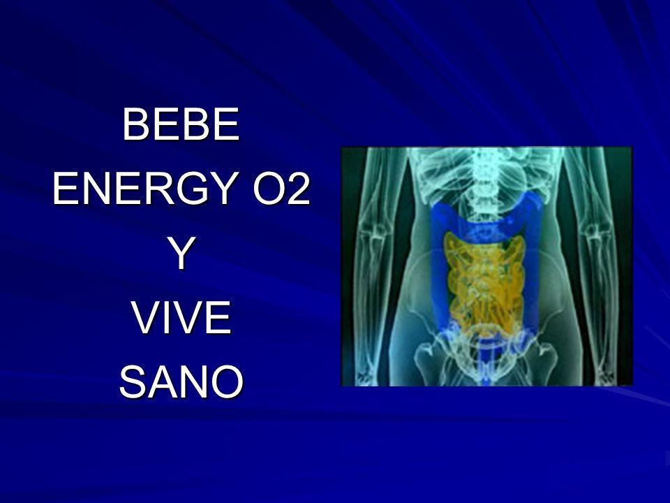BEBE ENERGY O2 Y VIVE SANO