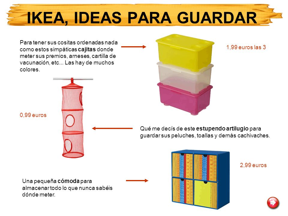 IKEA, IDEAS PARA GUARDAR