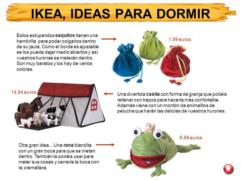 IKEA, IDEAS PARA DORMIR