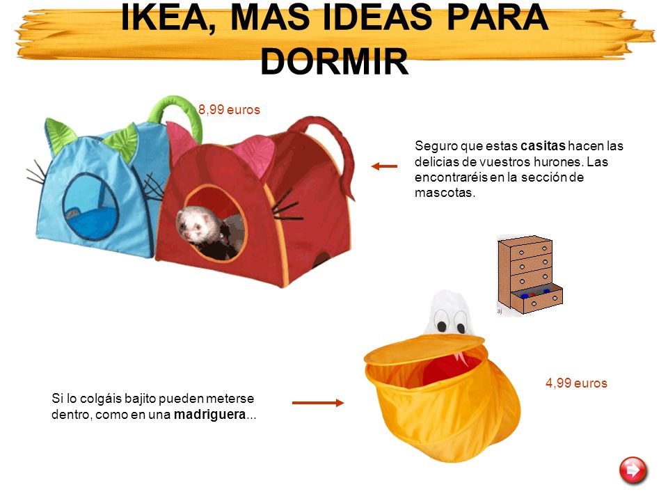 IKEA, MAS IDEAS PARA DORMIR