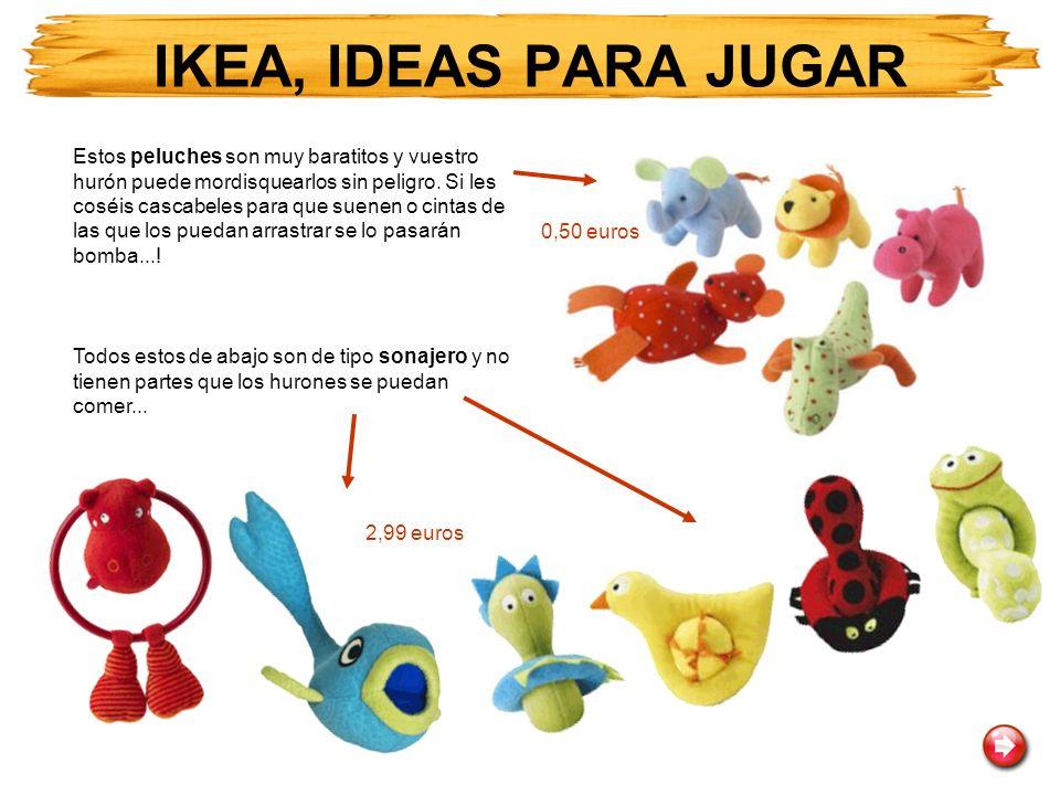 IKEA, IDEAS PARA JUGAR