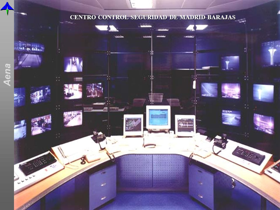 CENTRO CONTROL SEGURIDAD DE MADRID-BARAJAS