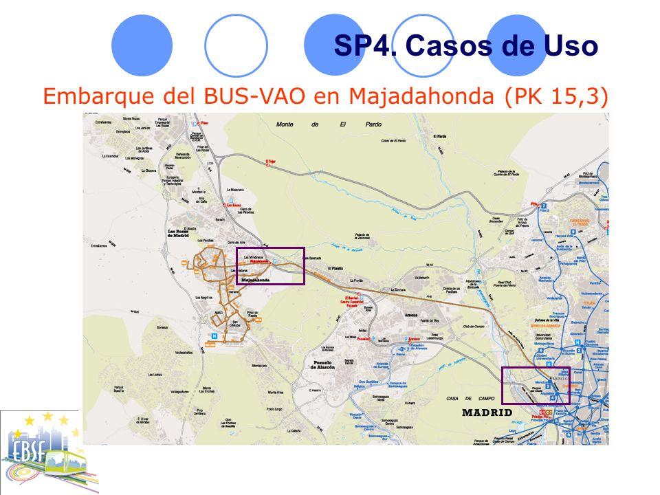 SP4. Casos de Uso Embarque del BUS-VAO en Majadahonda (PK 15,3) 1