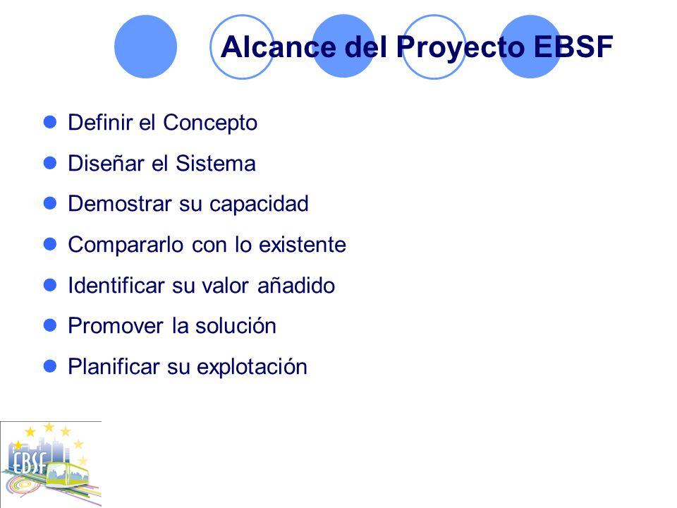 Alcance del Proyecto EBSF