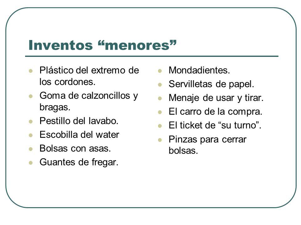 Inventos menores Plástico del extremo de los cordones.