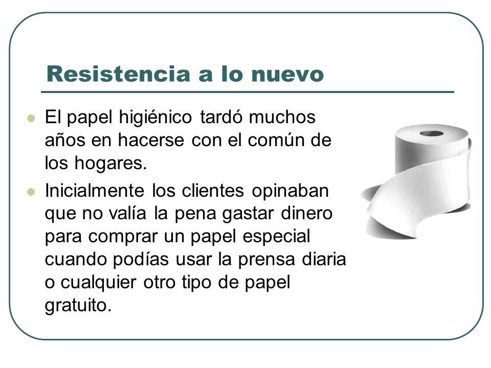 Resistencia a lo nuevo El papel higiénico tardó muchos años en hacerse con el común de los hogares.