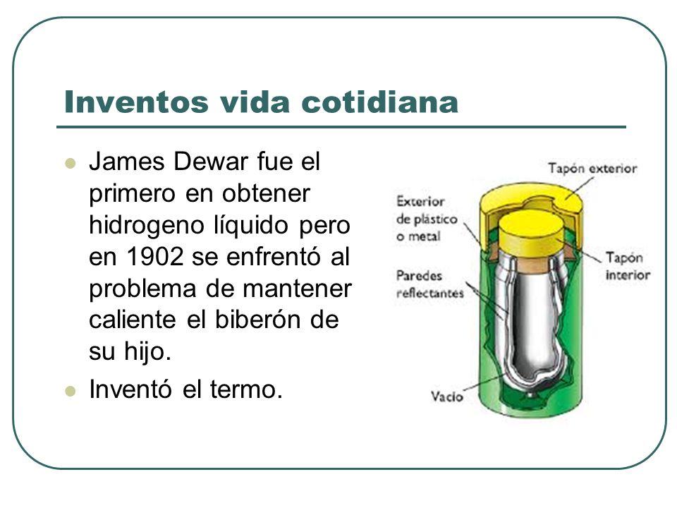 Inventos vida cotidiana