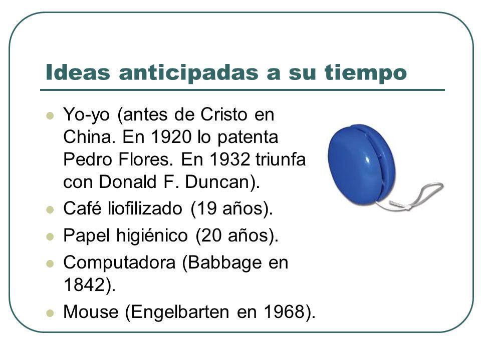 Ideas anticipadas a su tiempo