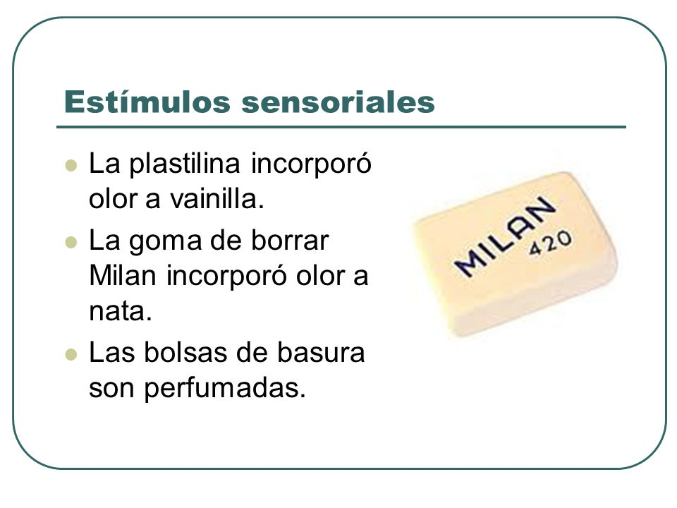 Estímulos sensoriales
