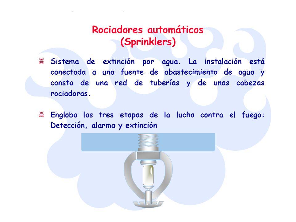 Rociadores automáticos (Sprinklers)