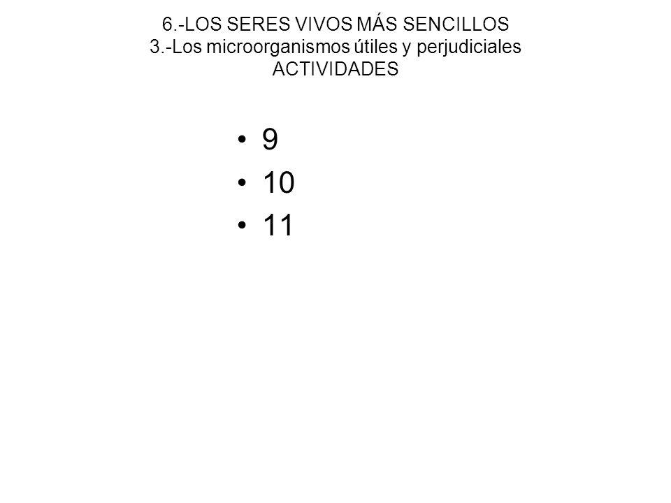 6. -LOS SERES VIVOS MÁS SENCILLOS 3