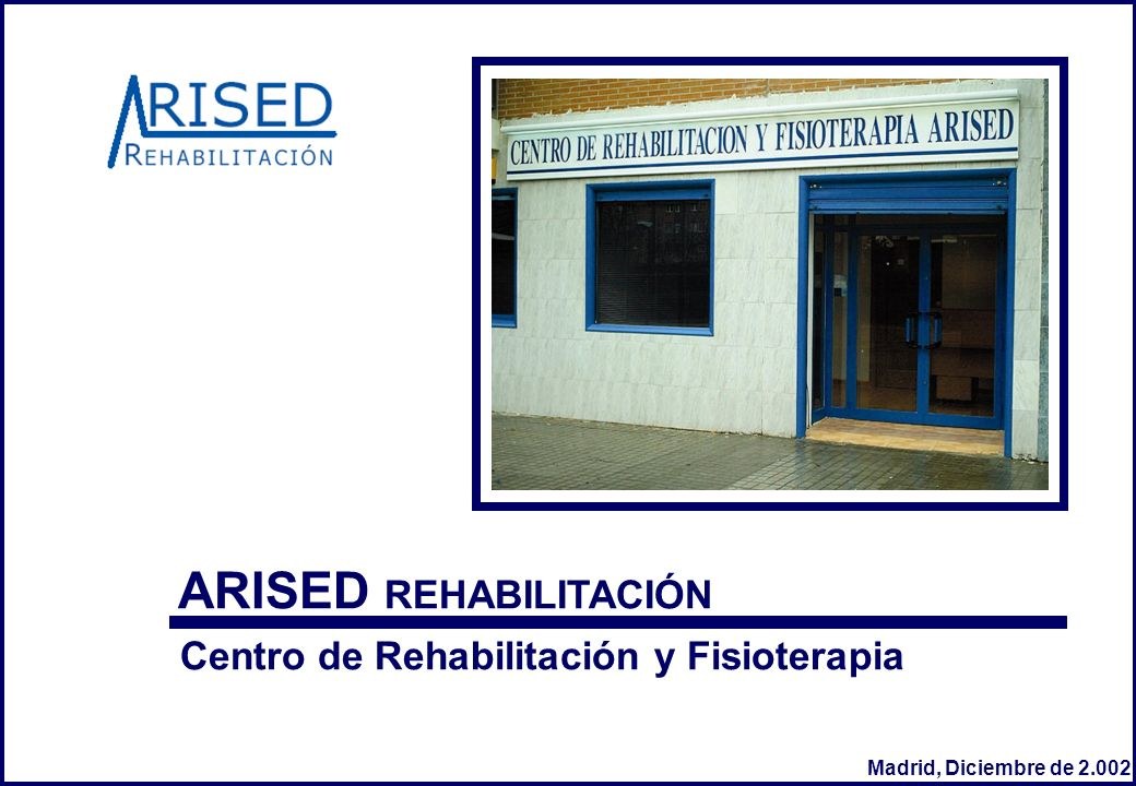 ARISED REHABILITACIÓN