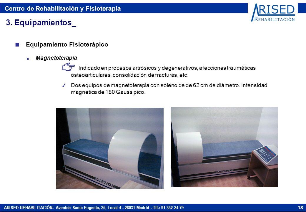 3. Equipamientos_ Equipamiento Fisioterápico Magnetoterapia