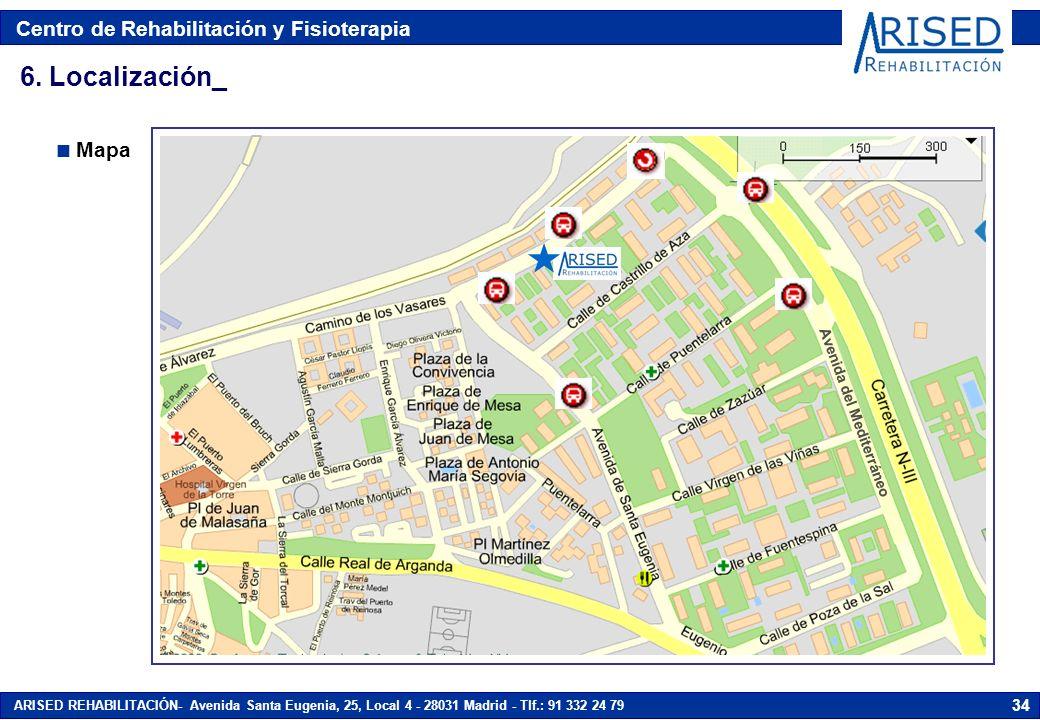 6. Localización_ Mapa Avenida del Mediterráneo