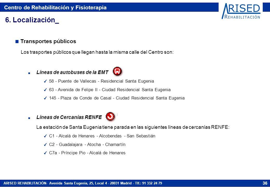 6. Localización_ Transportes públicos