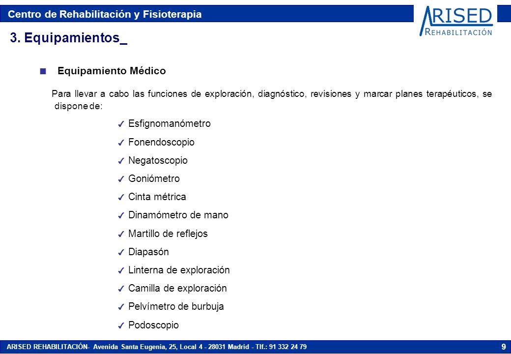 3. Equipamientos_ Equipamiento Médico