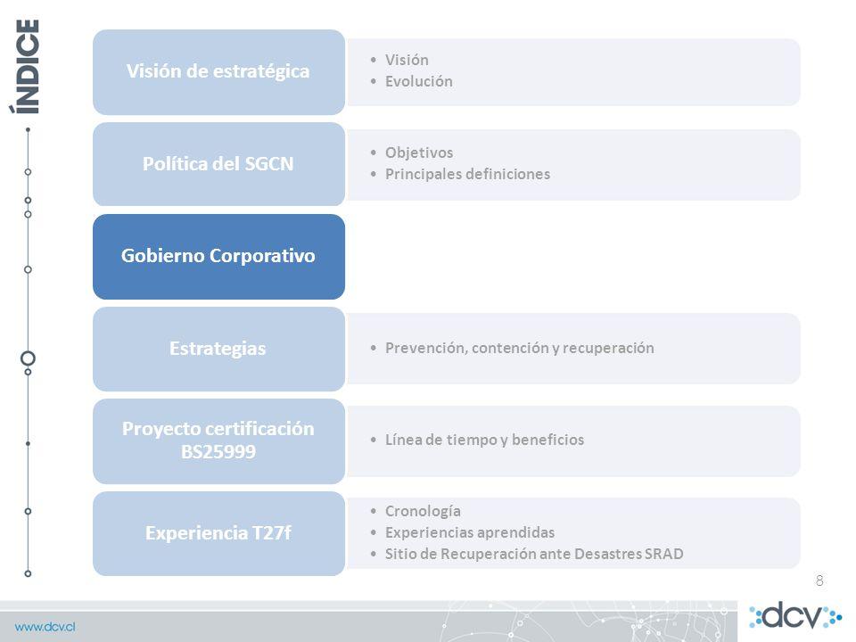 Proyecto certificación BS25999
