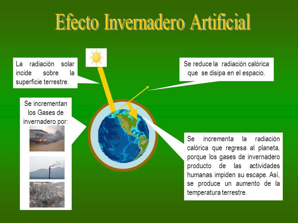 Efecto Invernadero Artificial