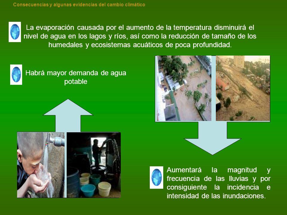 Habrá mayor demanda de agua potable