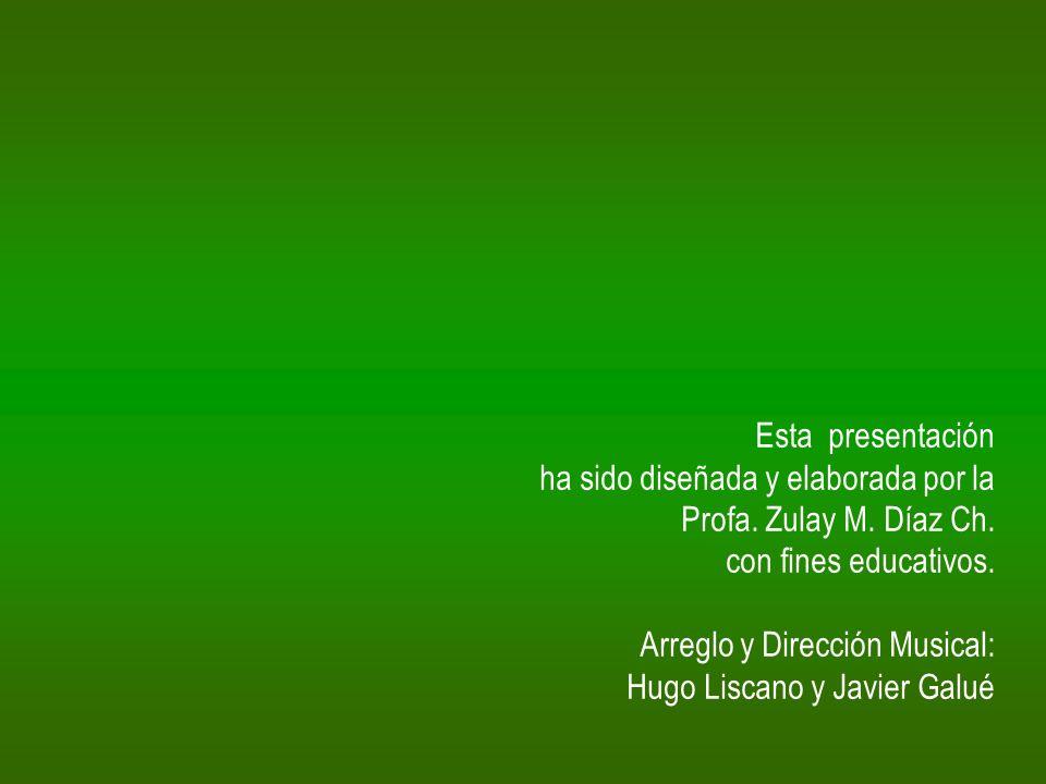 Esta presentación ha sido diseñada y elaborada por la. Profa. Zulay M. Díaz Ch. con fines educativos.