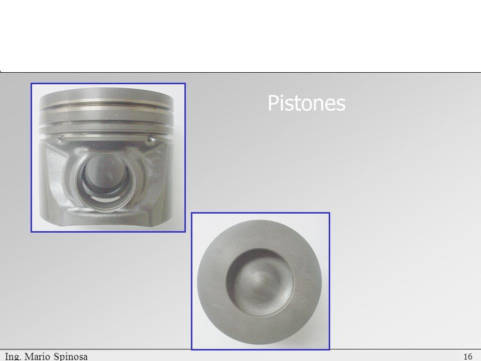 Pistones Ing. Mario Spinosa