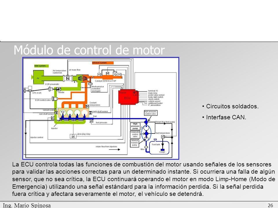 Módulo de control de motor