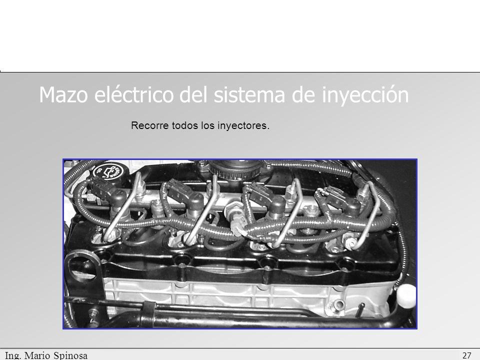 Mazo eléctrico del sistema de inyección