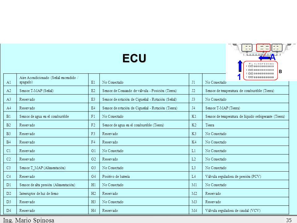 ECU A 1 Ing. Mario Spinosa A1