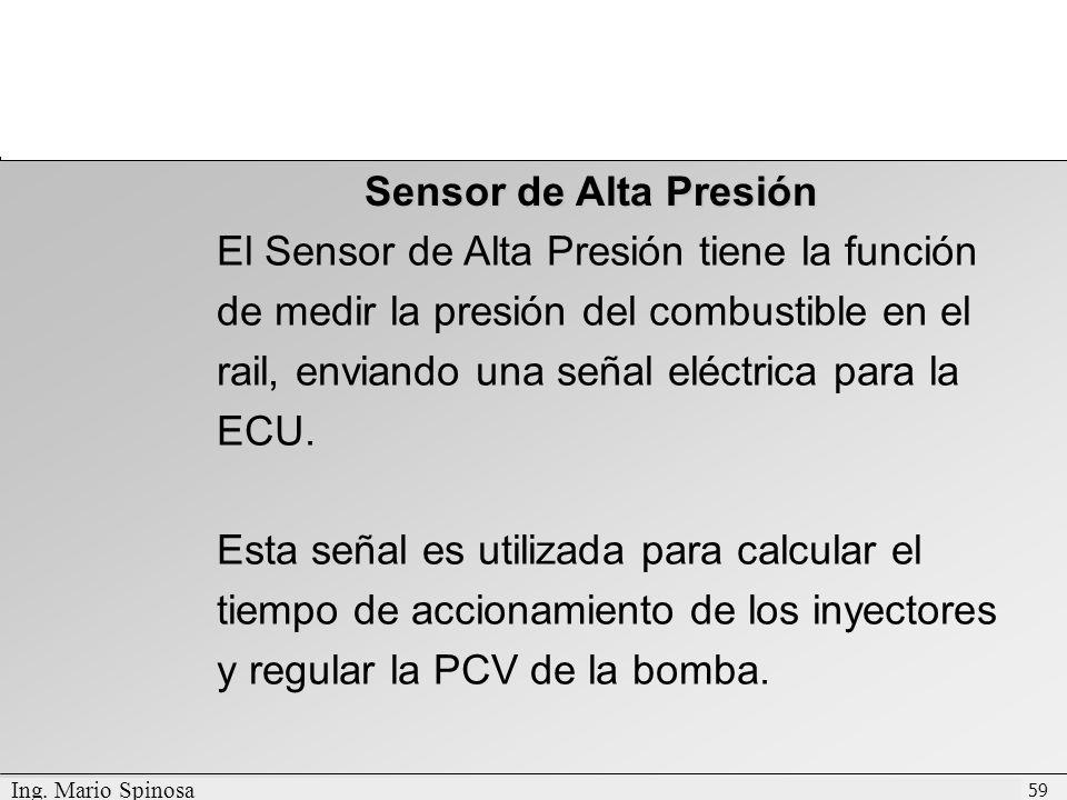 Sensor de Alta Presión