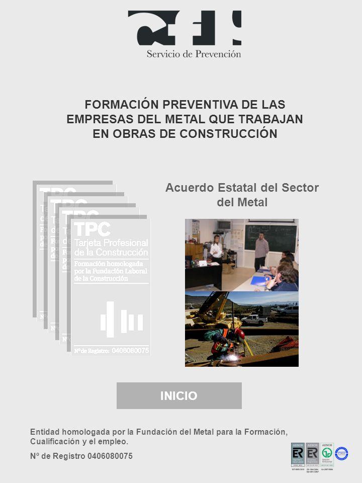 Acuerdo Estatal del Sector del Metal