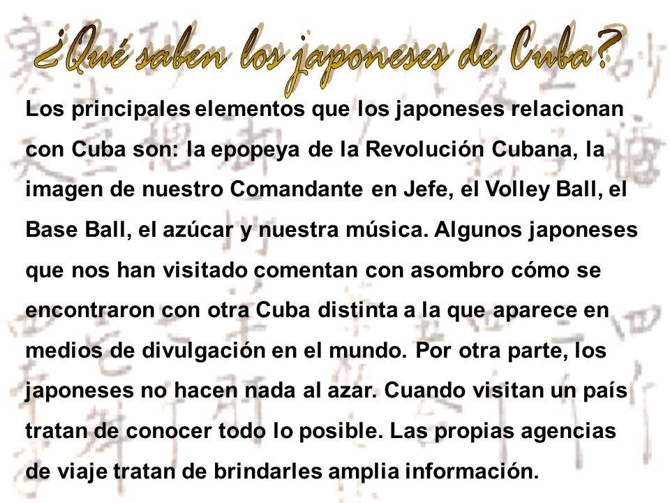 ¿Qué saben los japoneses de Cuba