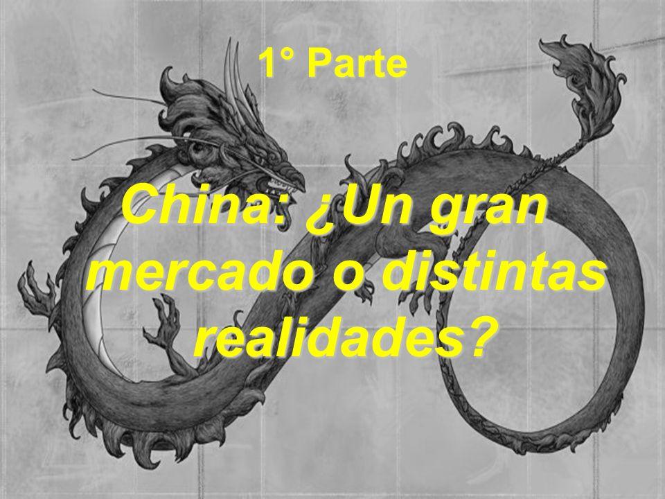 China: ¿Un gran mercado o distintas realidades
