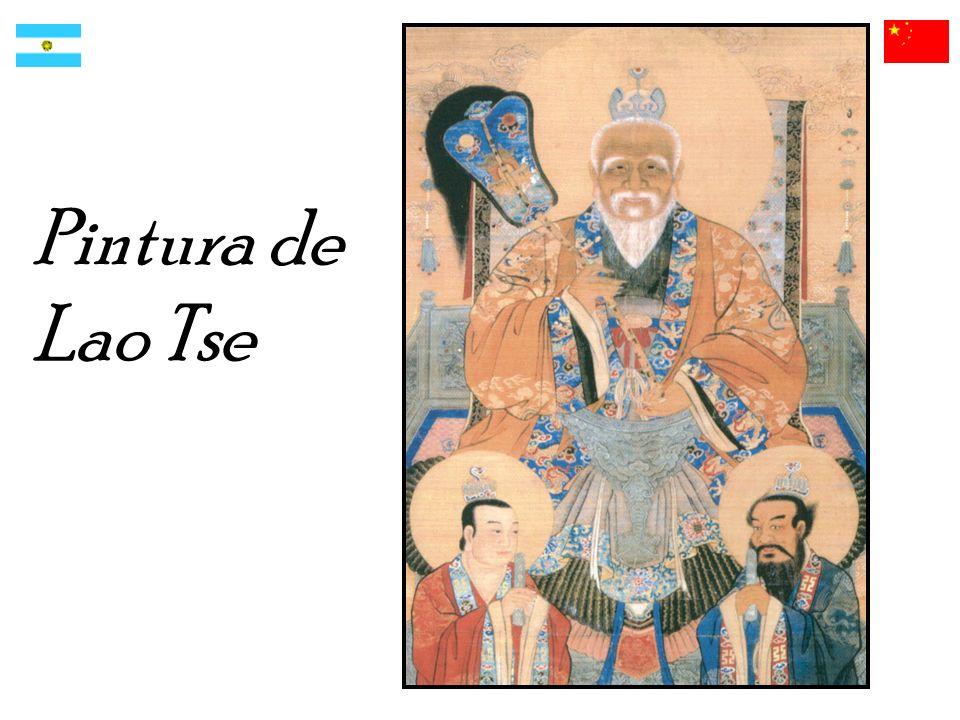 Pintura de Lao Tse