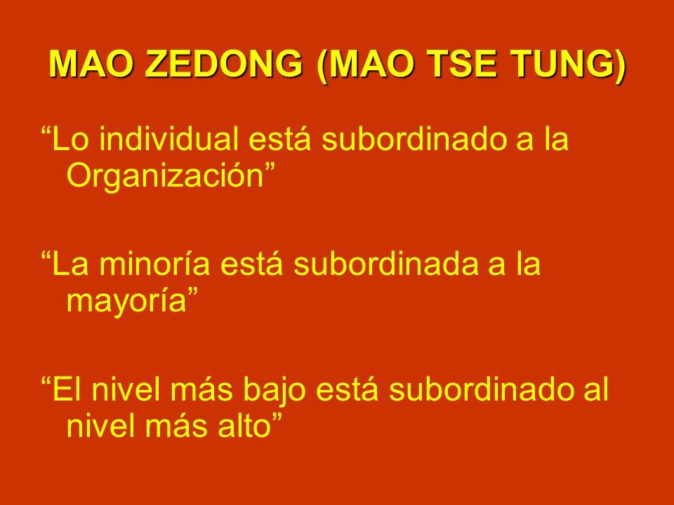 MAO ZEDONG (MAO TSE TUNG)