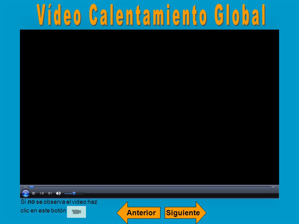 Vídeo Calentamiento Global