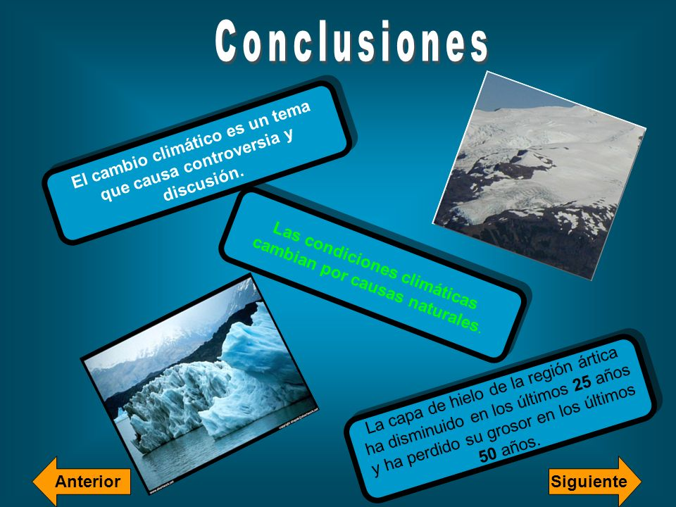 El cambio climático es un tema que causa controversia y discusión.