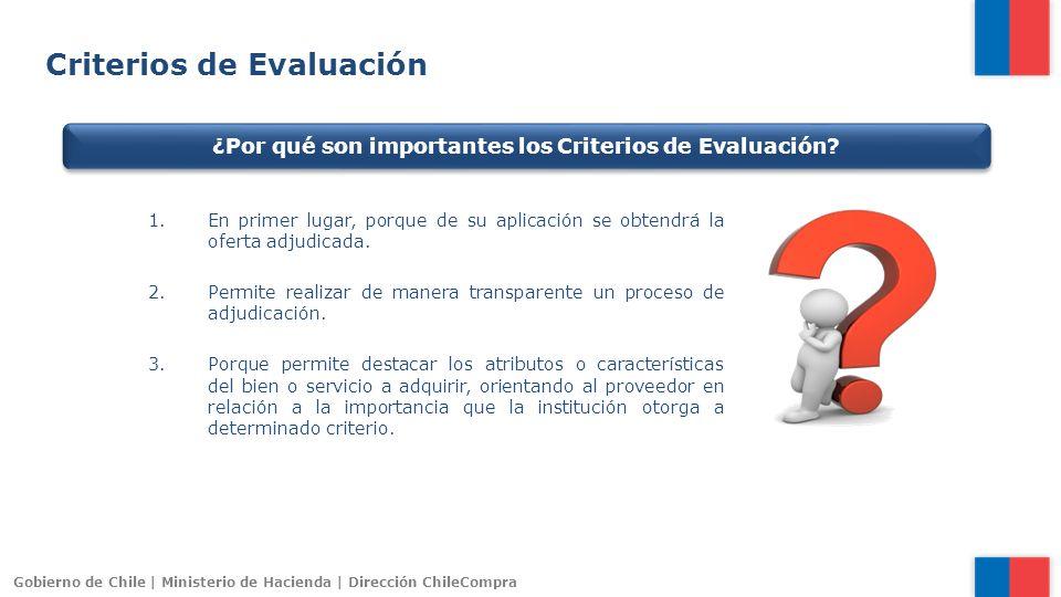 ¿Por qué son importantes los Criterios de Evaluación