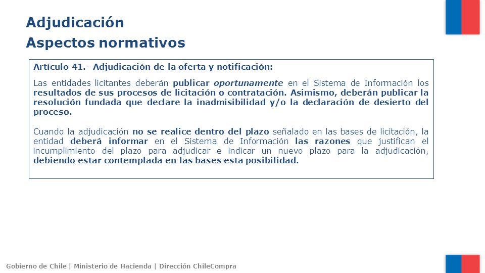 Adjudicación Aspectos normativos