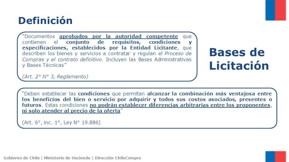 Bases de Licitación Definición