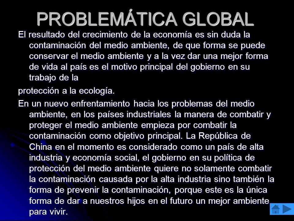 PROBLEMÁTICA GLOBAL