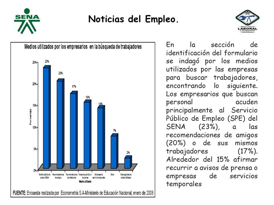 Noticias del Empleo.