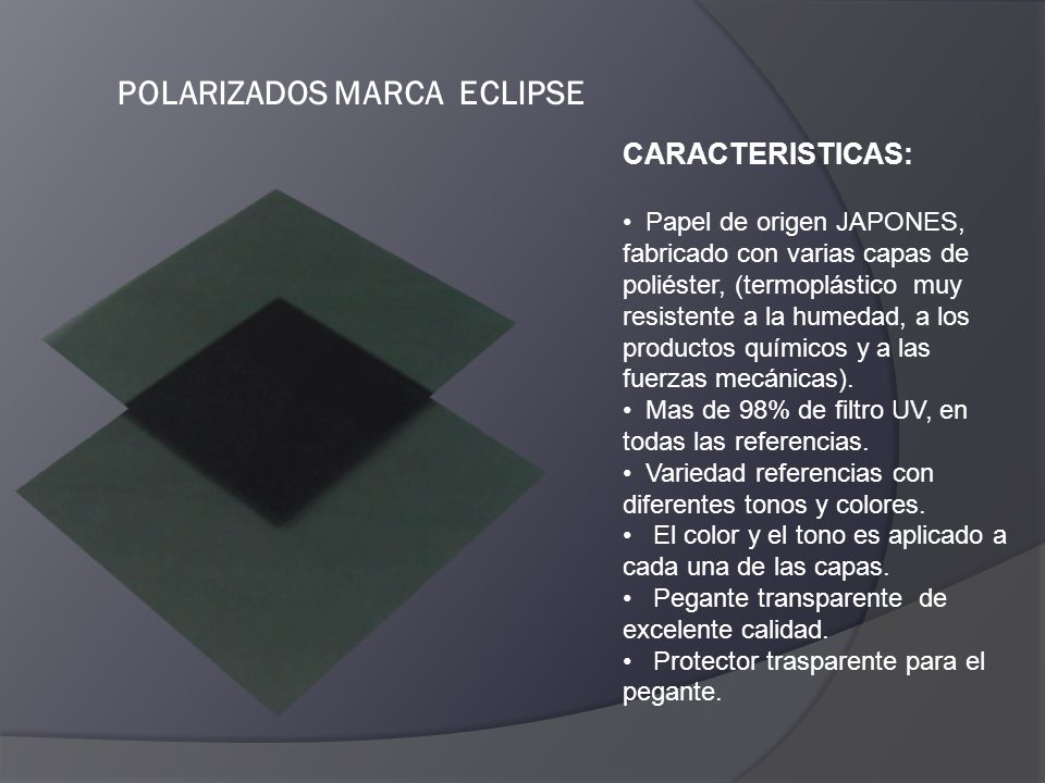 POLARIZADOS MARCA ECLIPSE