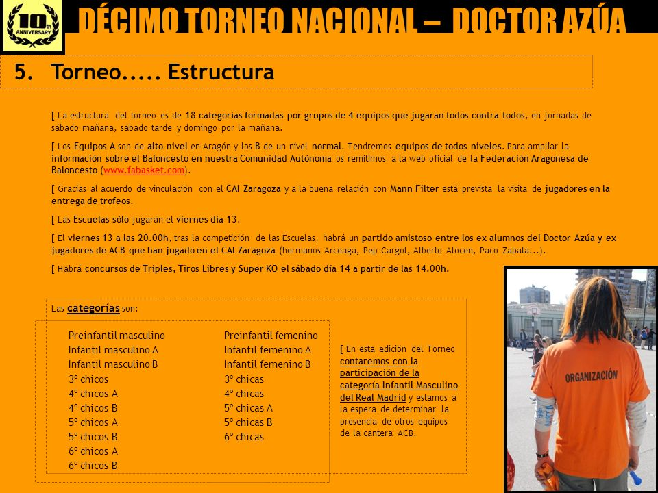 DÉCIMO TORNEO NACIONAL – DOCTOR AZÚA