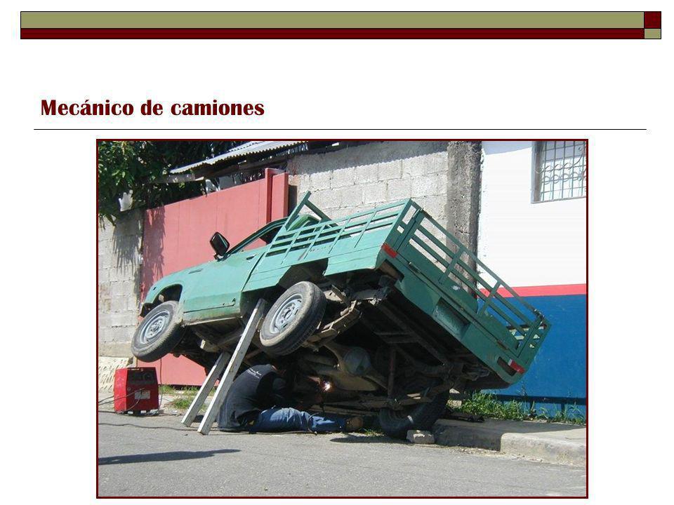 Mecánico de camiones