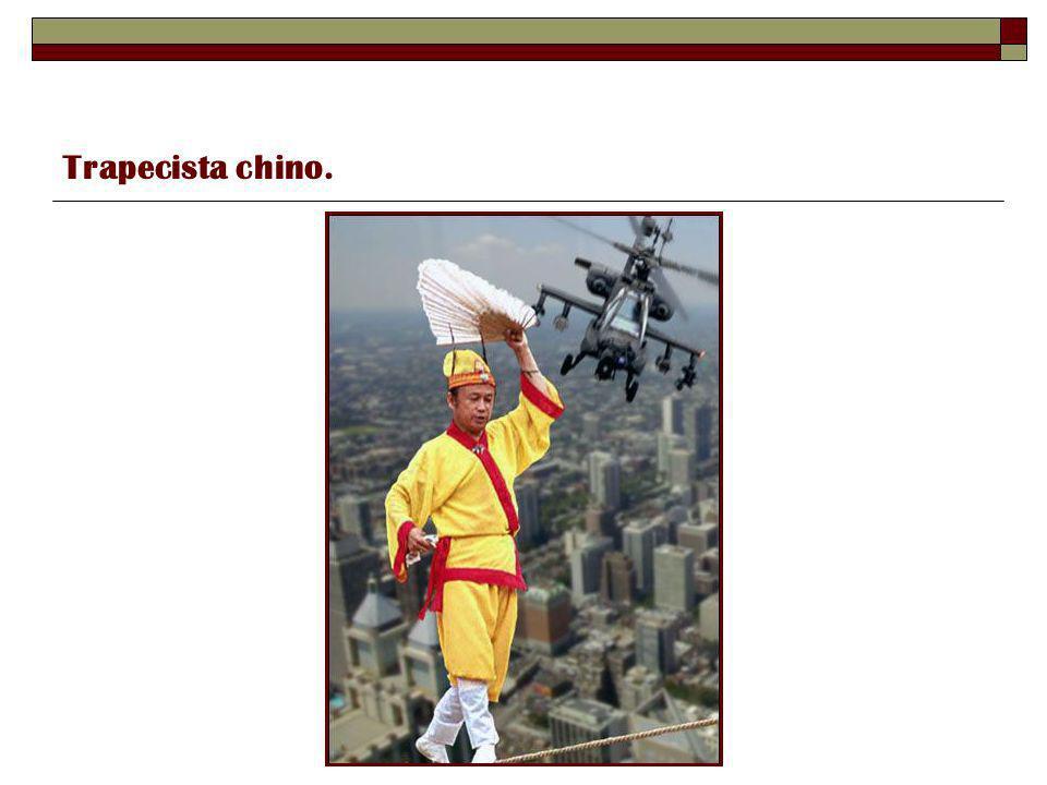 Trapecista chino.