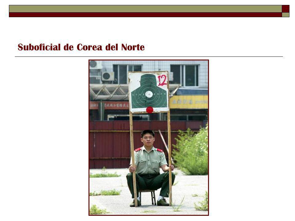 Suboficial de Corea del Norte